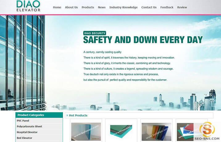 国际营销型网站