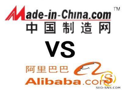 【B2B平台】外贸推广选阿里巴巴还是中国制造呢?
