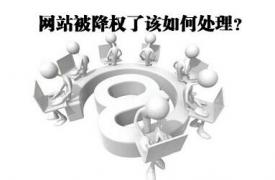 【SEO知识】网站被降权之后快速恢复权重的方法