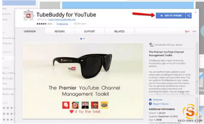 做Youtube,你必须使用的一款营销工具!TUBEBUDDY